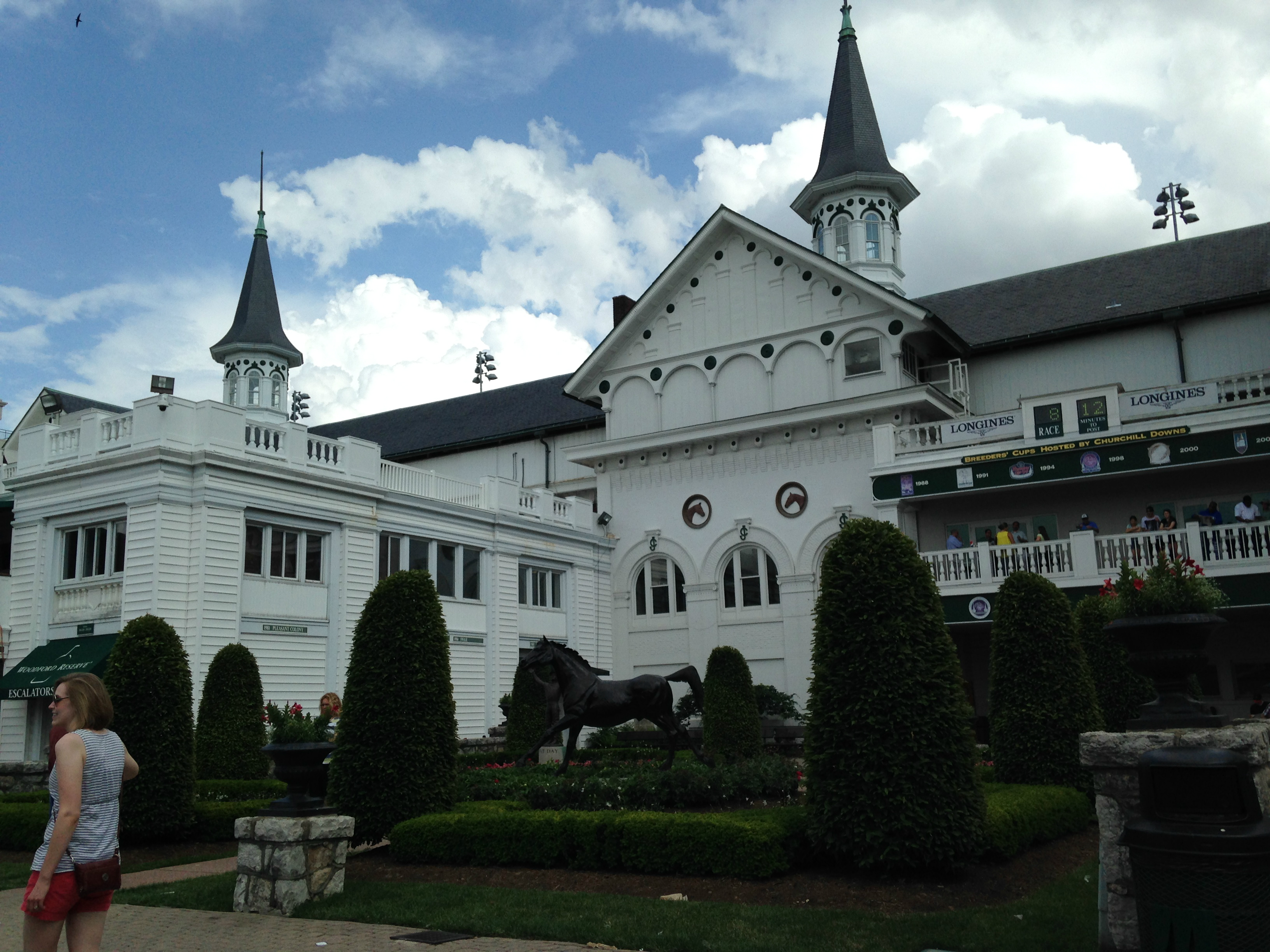 Churchill Downs in Louisville, Kentucky. May 30, 2015.