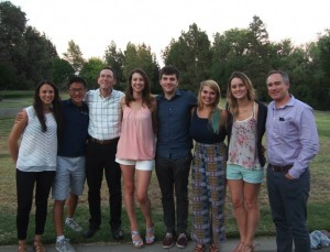 Sylvie Cohen (Far Left) with the other vet students that participated in the NIH internship program and the two directors of the program (Dr. Mark Simpson, DVM, PhD and Dr. Chuck Halsey, DVM, PhD).
