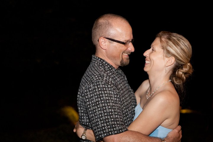 Doug and his late wife, Laura.